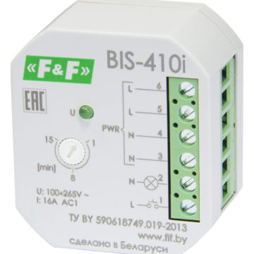 BIS-410i реле импульсное