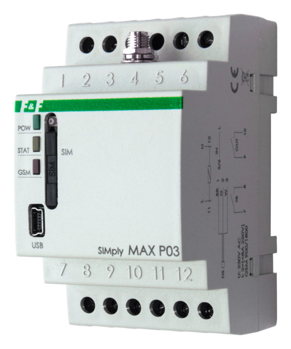 SIMply MAX P03 реле GSM