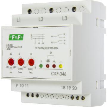 CKF-346 реле контроля фаз