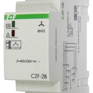 CZF-2B контроль асимметрии и состояния контактора