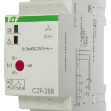 CZF-2BR контроль асимметрии и состояния контактора