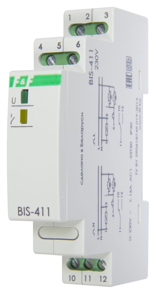 BIS-411 16А, с функцией памяти