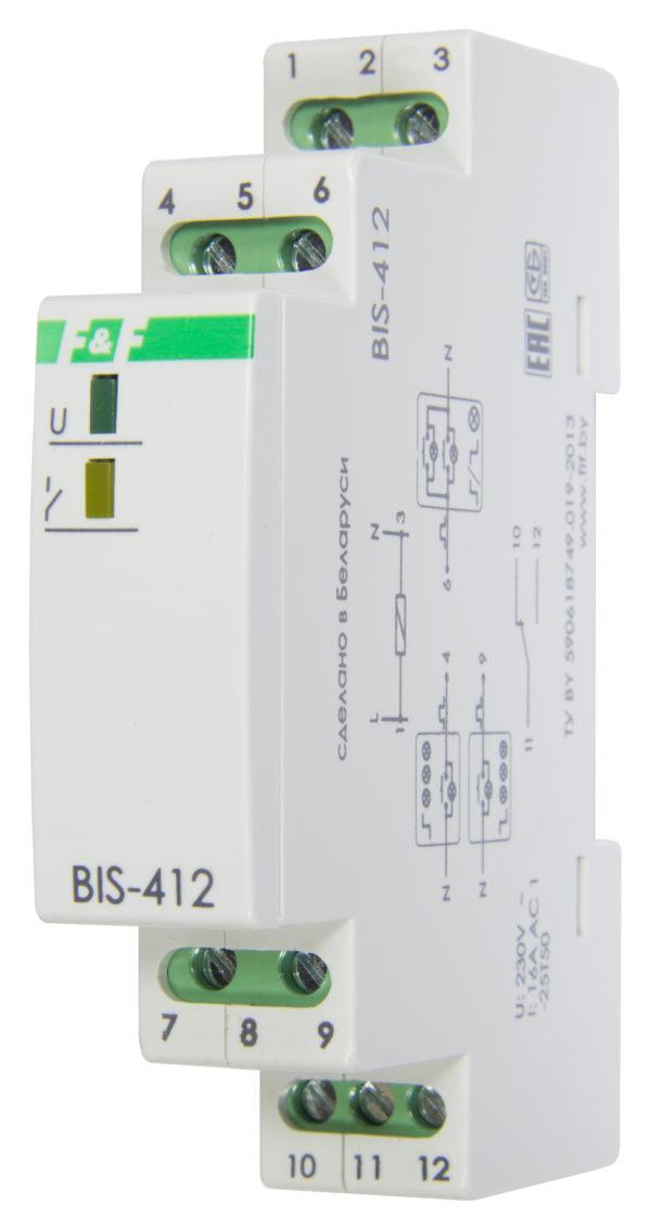 BIS-412 16А, с функцией памяти