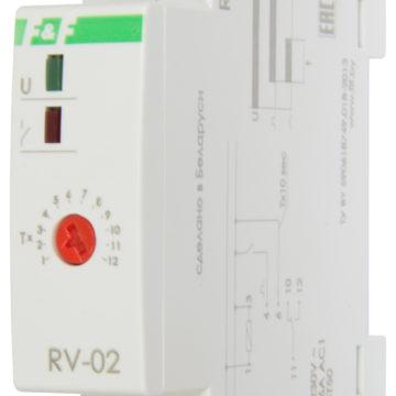 RV-02 реле сзадержкой выключения
