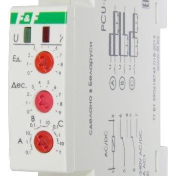 PCU-501 реле времени многофункциональное