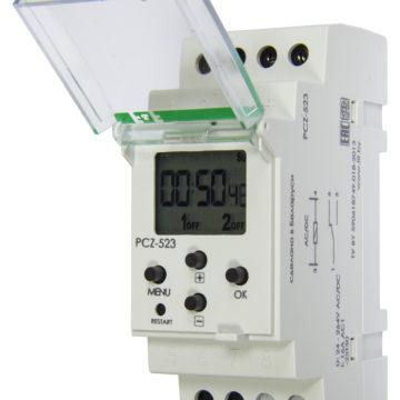 PCZ-523 реле времени программируемое импульсное