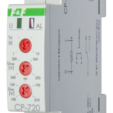 CP-720 реле напряжения 16А