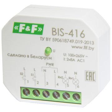 BIS-416 реле импульсное