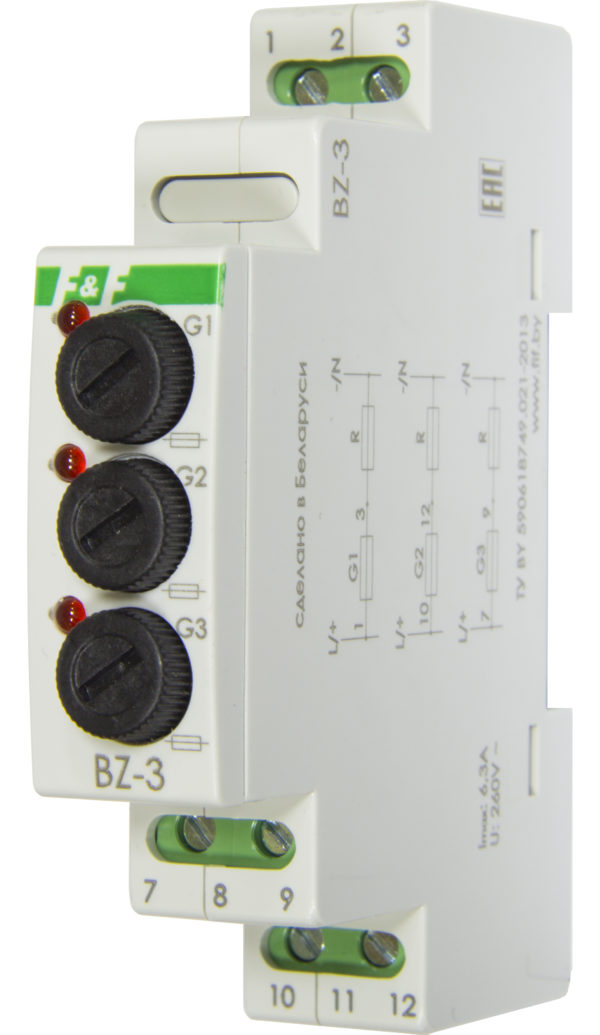 BZ-3 блок защиты на 3 ячейки