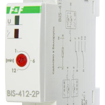 BIS-412-2P реле импульсное сгрупповыми входами